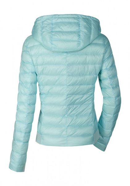 low priced 2bf15 835b8 Milestone Damen Steppjacke Muffin Hellblau Kapuze - LEDORADO ...
