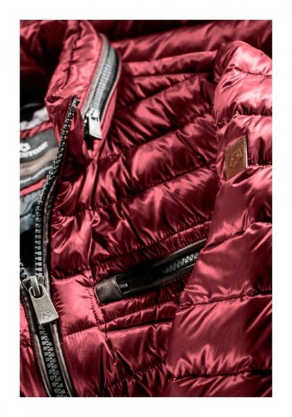 low priced 544c2 00965 Milestone Herren Daunenjacke Steppjacke Rot - LEDORADO ...