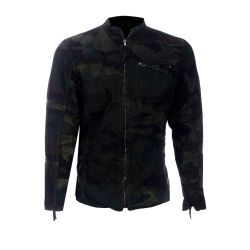 Be Edgy Herren Jacke Streetwear Press Black/Camo